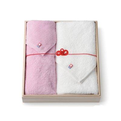画像1: (受注限定) Gift no.007 今治織匠 至極タオル バスタオル&フェイスタオルセット