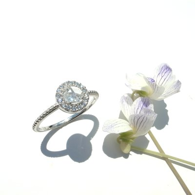画像2: ROSECUT DIAMOND RING