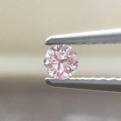 画像1: 裸石 0.105ct FANCY INTENSE PINK(天然) I1 中央宝石研究所ソーティング付